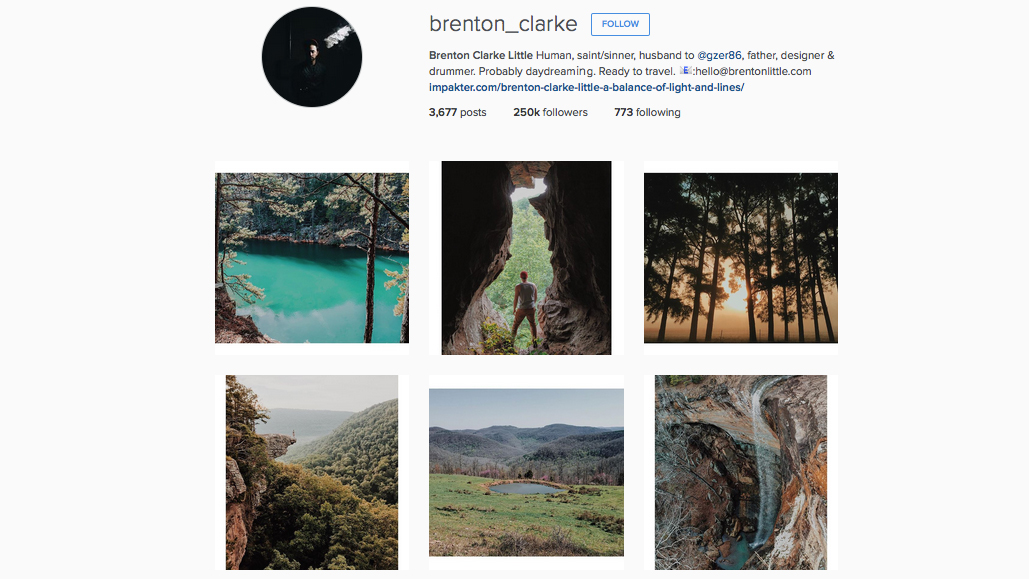 Graphic designers to follow on Instagram: Brenton Clarke