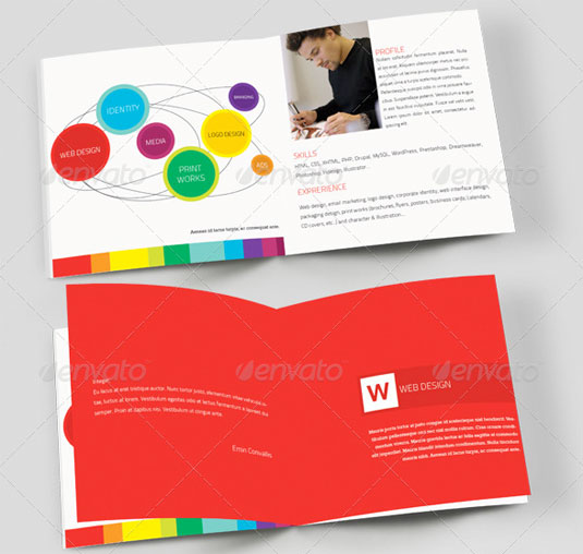 21 of the best brochure templates for designers creative for Brochure booklet templates