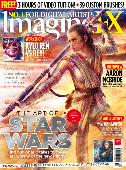imagine fx issue 129 cover 2 star wars ray