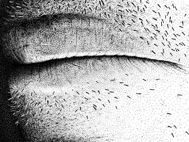 Mouth detail from Hero
