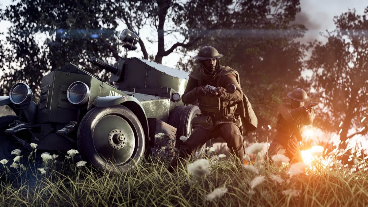 Battlefield 1 Incursions mode is kinda like a MOBA but don't run away screaming