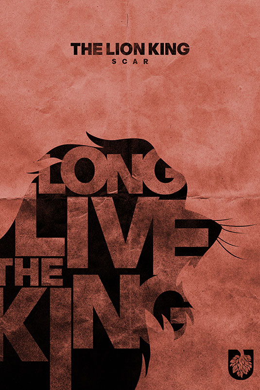 lion king posters: scar