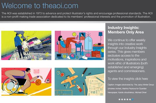 Student freelance help: Association of Illustrators
