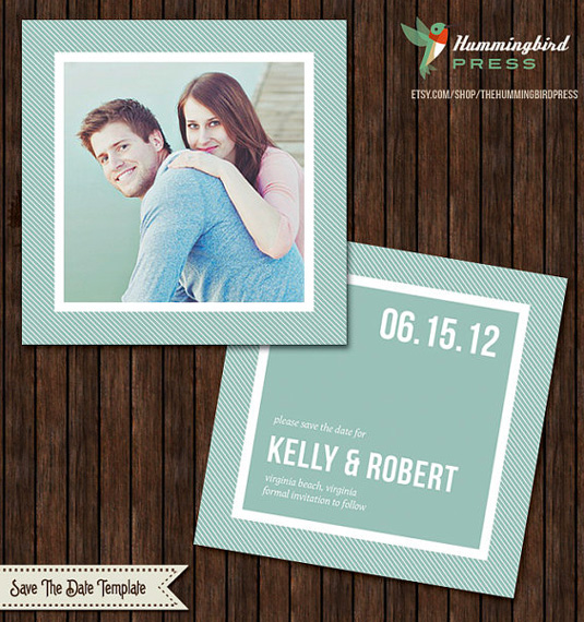 invitation template: save the date