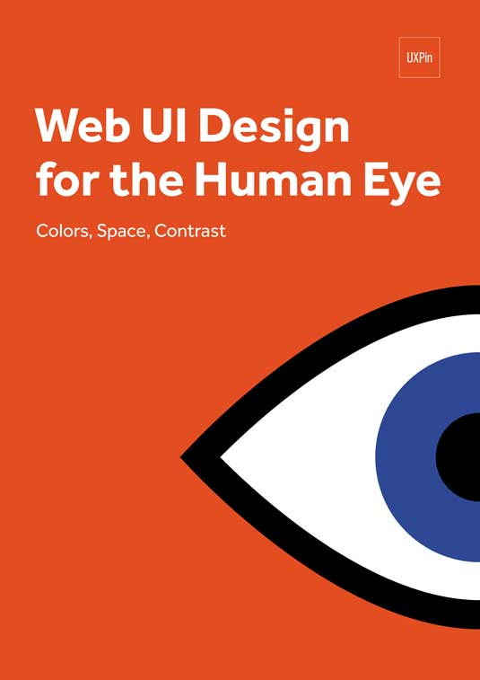 Cover for Web UI Design for the Human Eye
