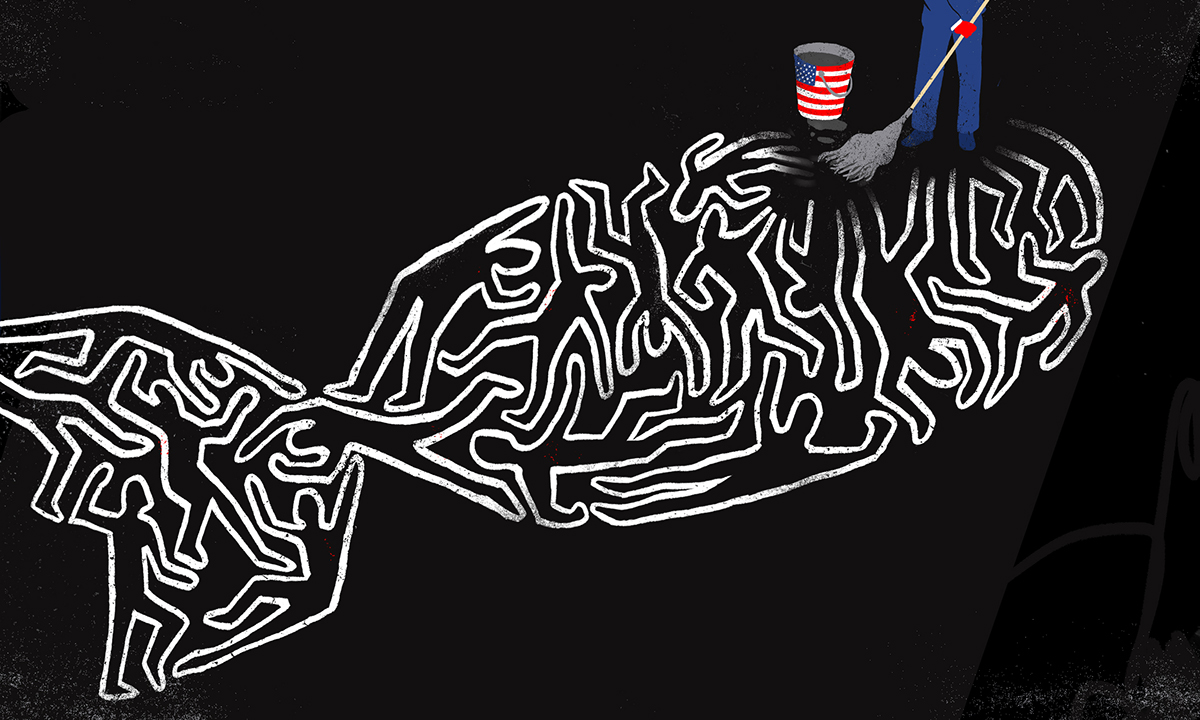 political illustrations