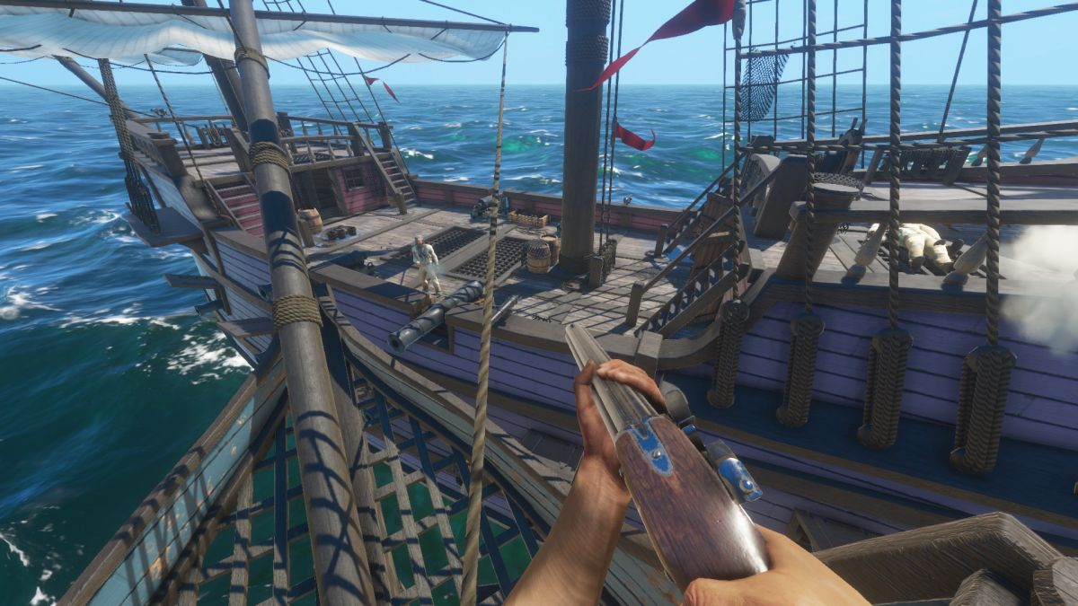 Blackwake's pirate deathmatches are great multiplayer