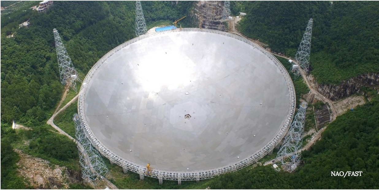China is opening the world's largest radio telescope up to international scientists