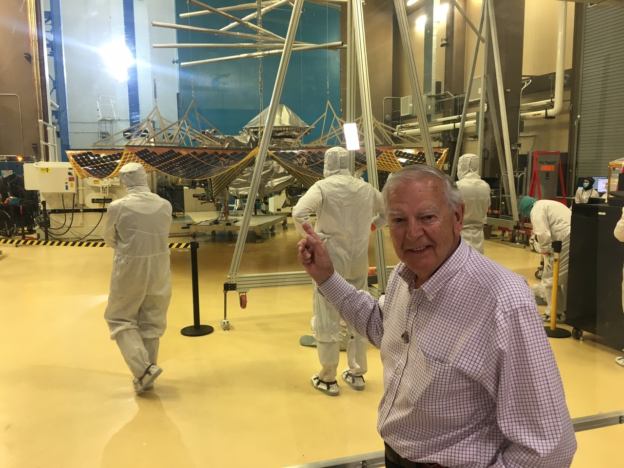 Discoverer of Lucy asteroid mission's namesake fossil excited to watch Saturday launch