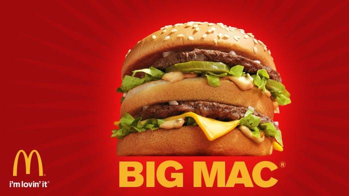 Big Mac advert