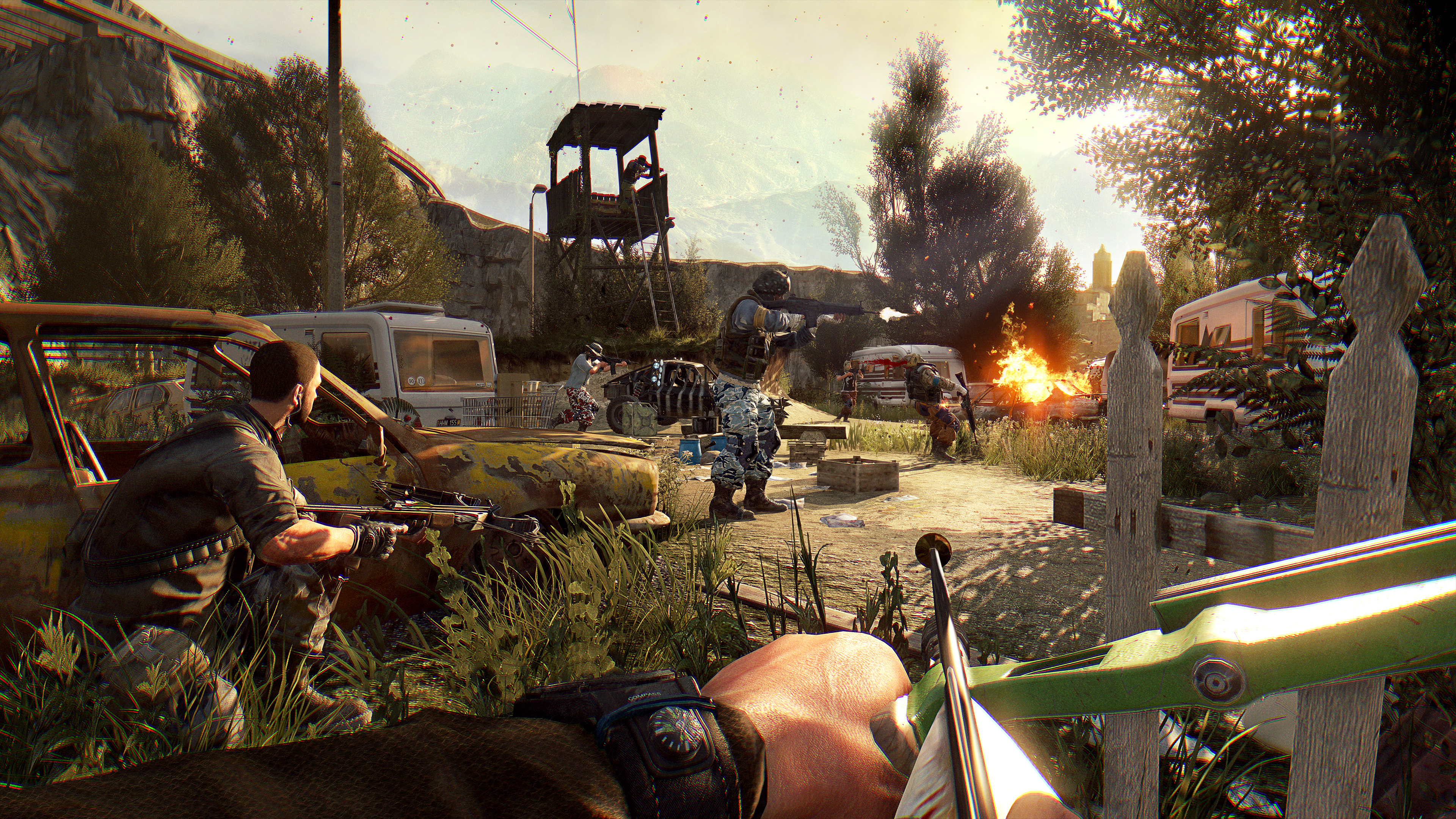 The best co-op PC games: Dying Light: Enhanced Edition