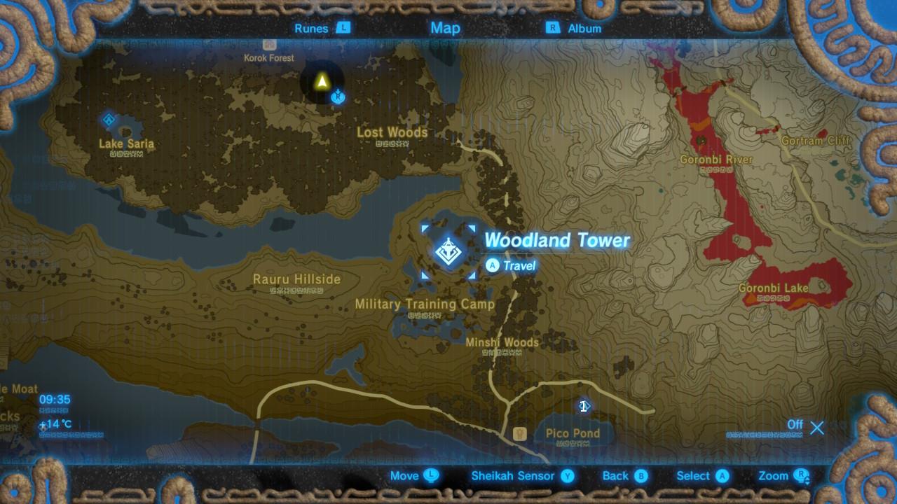 Zelda Woodland Tower The Legend Of Zelda Breath Of The Wild Shrine Locations And Solutions Guide Gamesradar