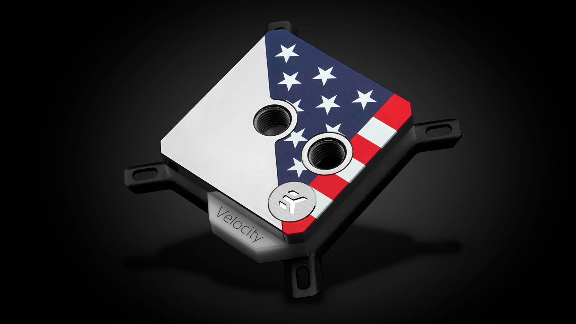 EKWB announces star-spangled CPU water block in support of disabled vets