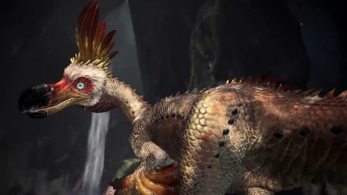 This new Monster Hunter World trailer stars the fugliest flamingo beast ever