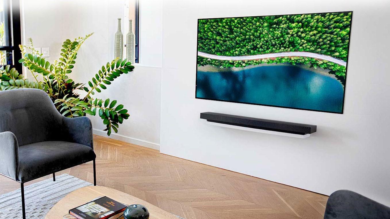 LG WX 'Wallpaper' Series OLED