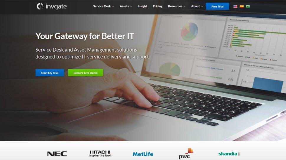 InvGate Service Desk - The comprehensive ITSM that major corporations use