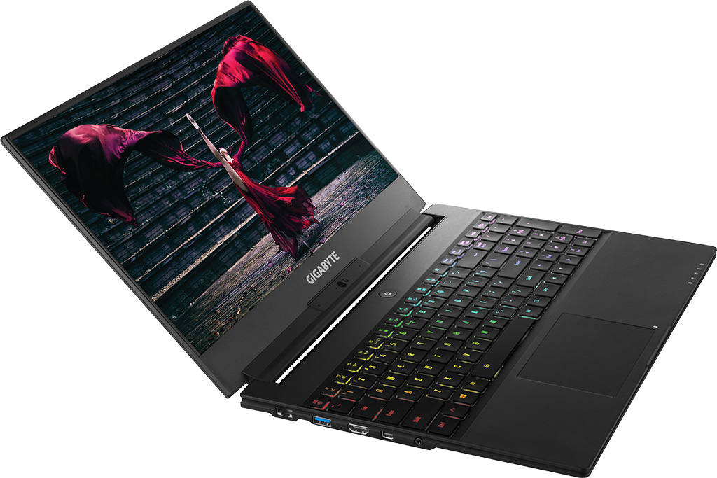 Image result for Gigabyte Aero 15 gaming laptop with GTX 1060 is insanely thin
