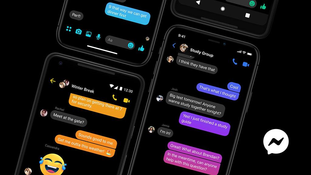 Facebook Messenger app unlocks dark mode for everyone