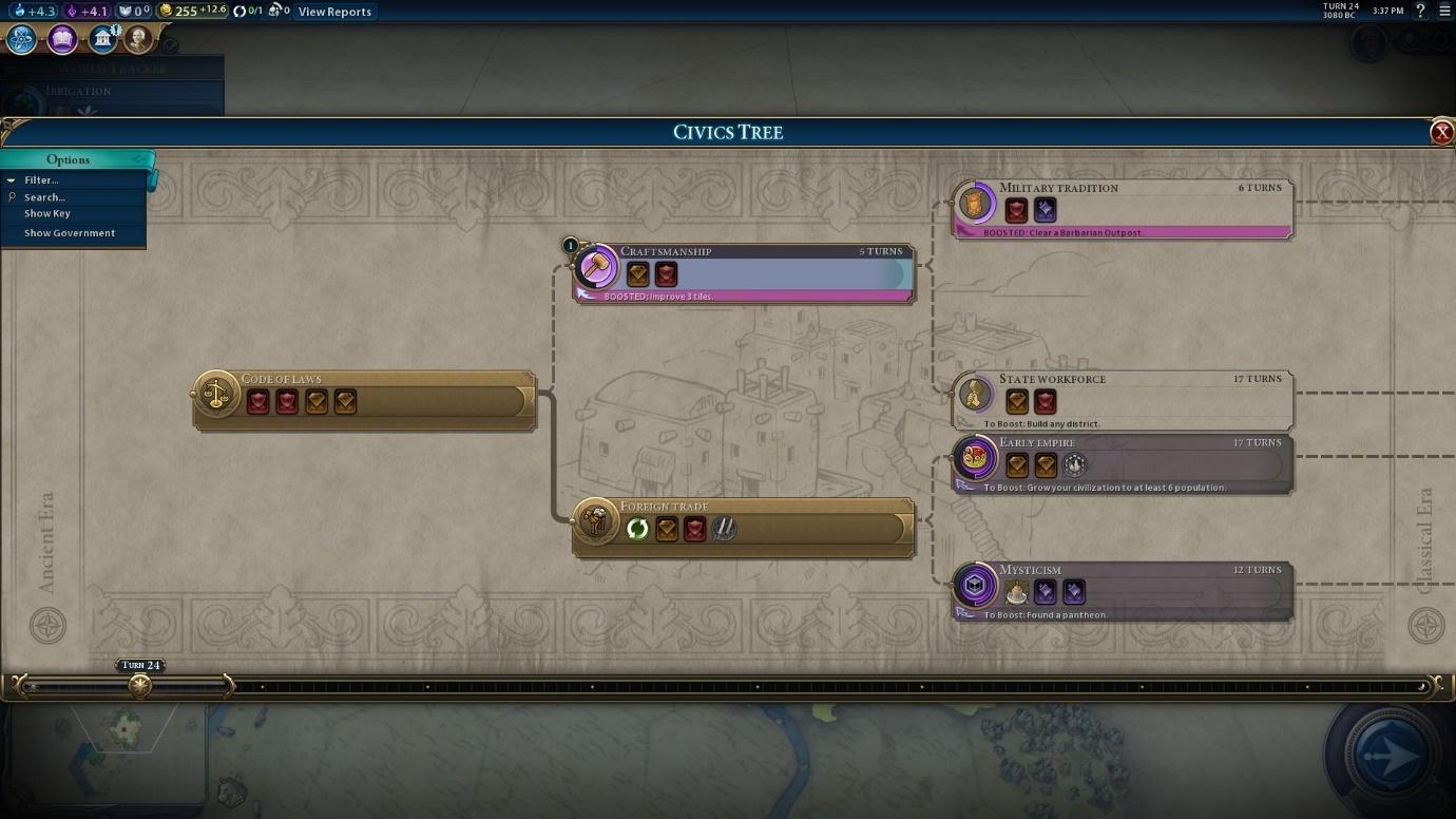 civ vi how to change a trade route