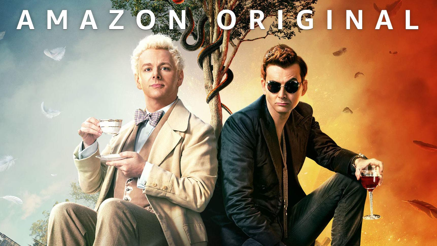 A promo image for Good Omens