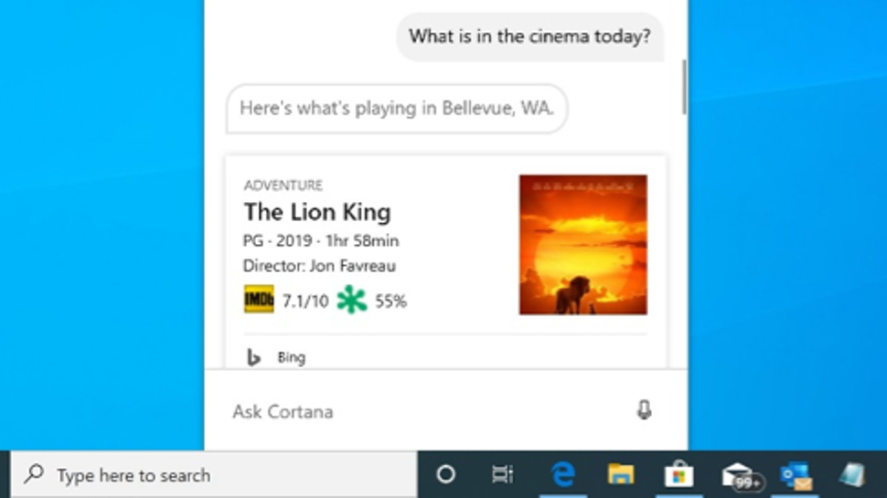 Windows 10 preview ushers in new Cortana app with chat-based interface