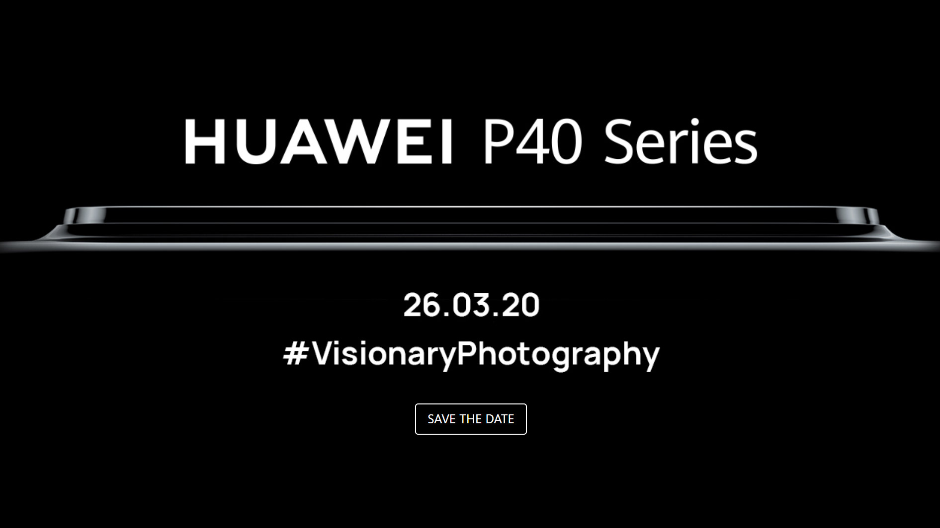 Huawei P40 Launch Event Teaser Suggests It S Another Phone