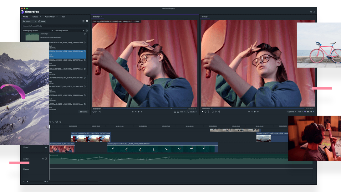 FilmoraPro: Professional video editing made easy
