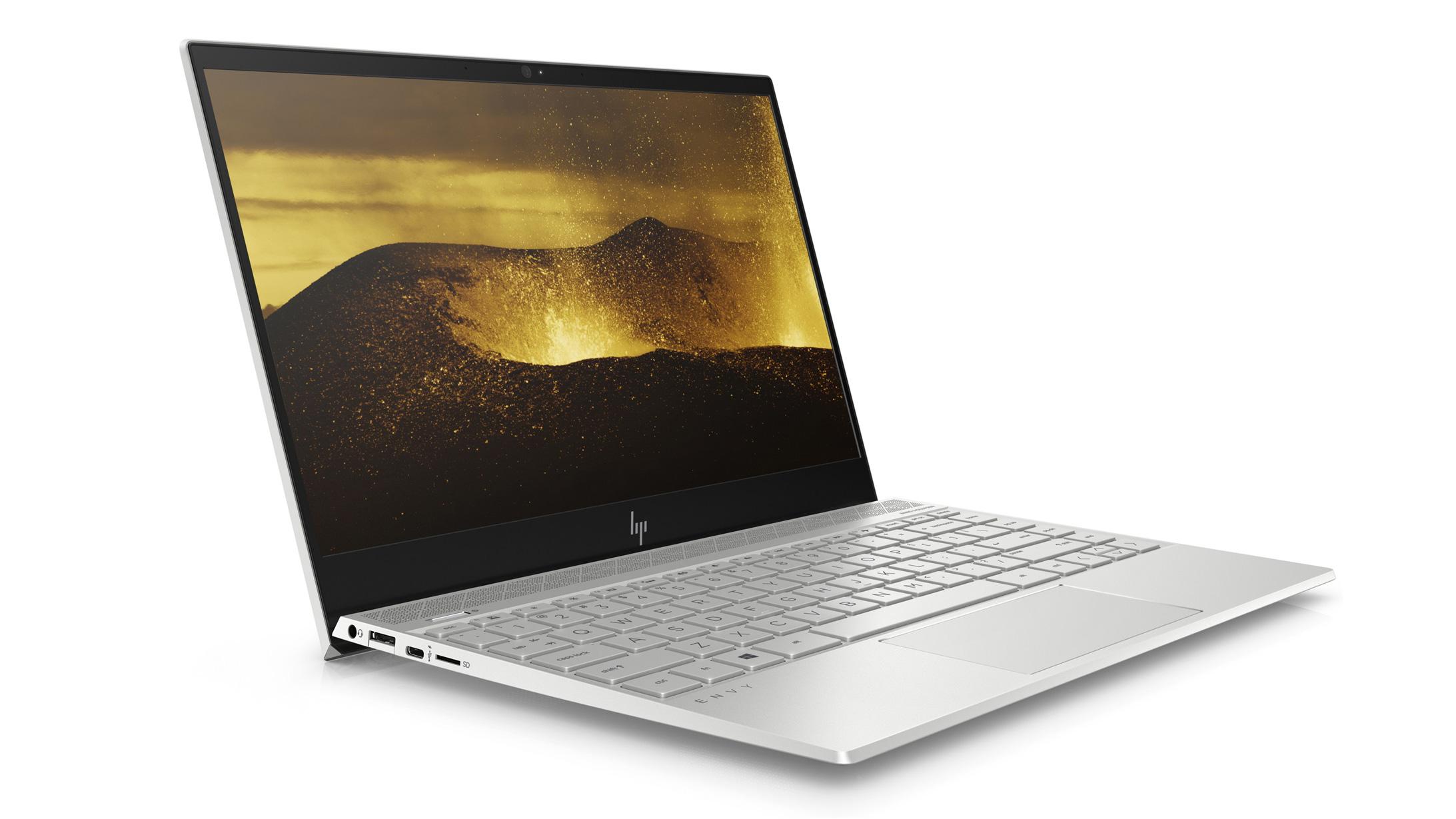 The best laptops for programming: HP Envy 13 (2018)