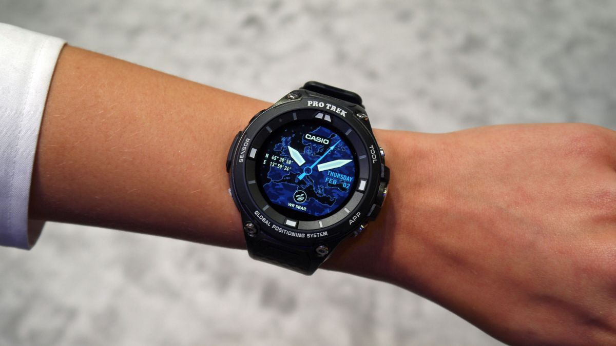 Casio WSD-F20 hands on review