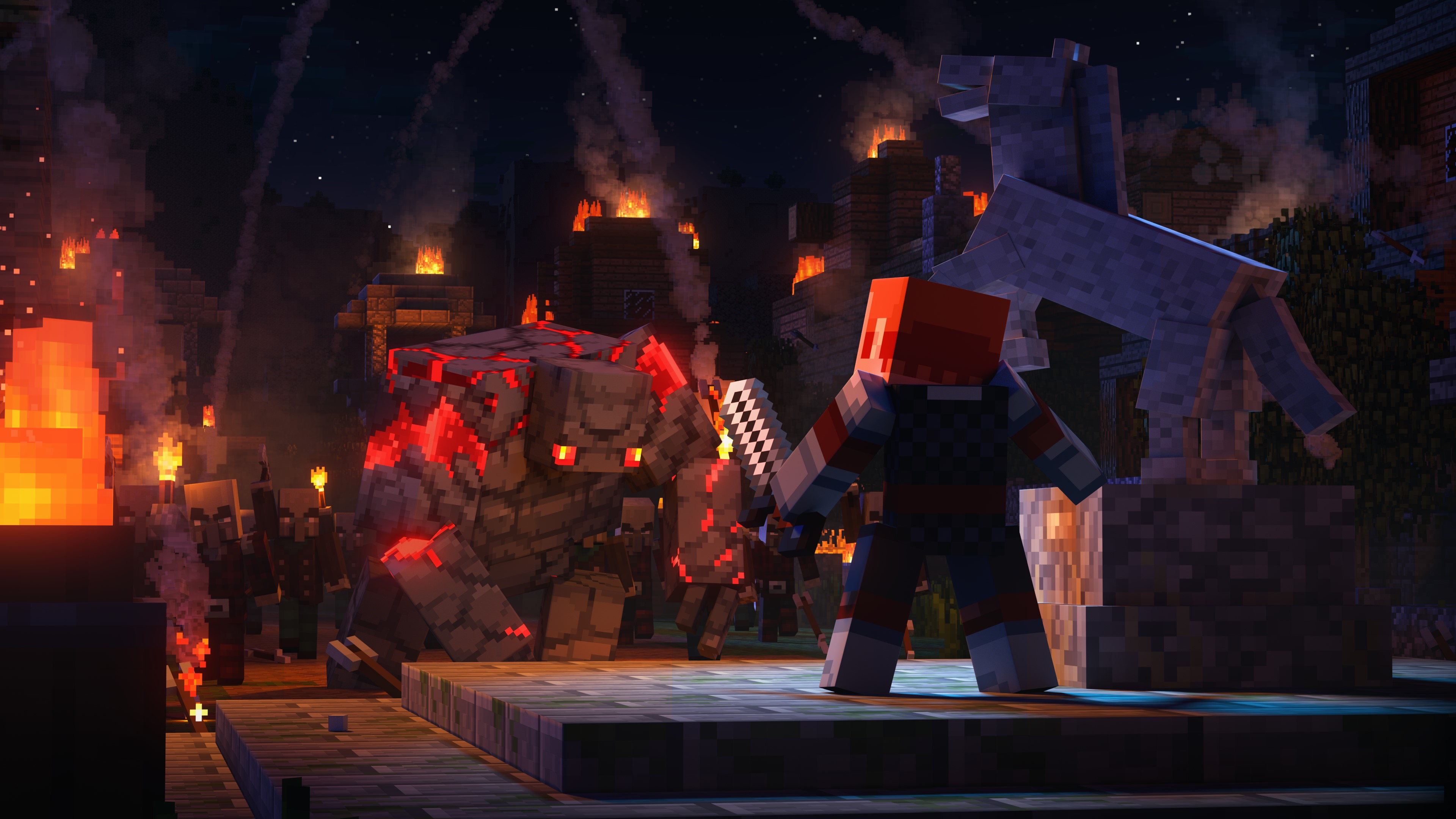 Minecraft Dungeons is a bombastic and breezy dungeon crawler that doesn't take itself too seriously