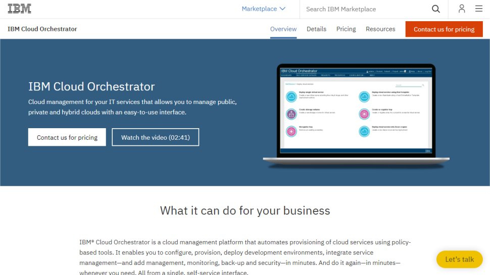 IBM Cloud Orchestrator