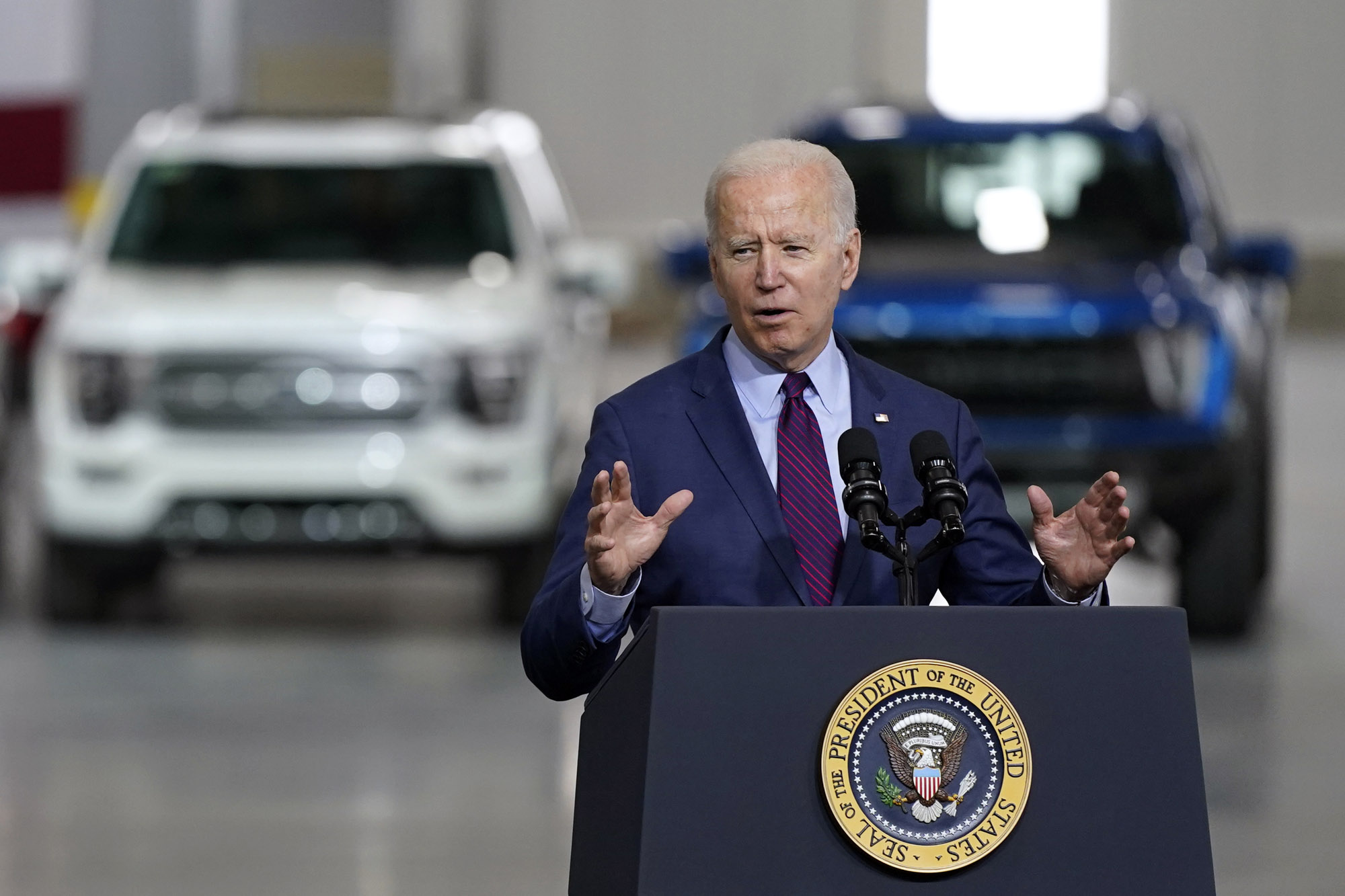 <p>Biden's budget includes a big Leap in climate spending thumbnail
