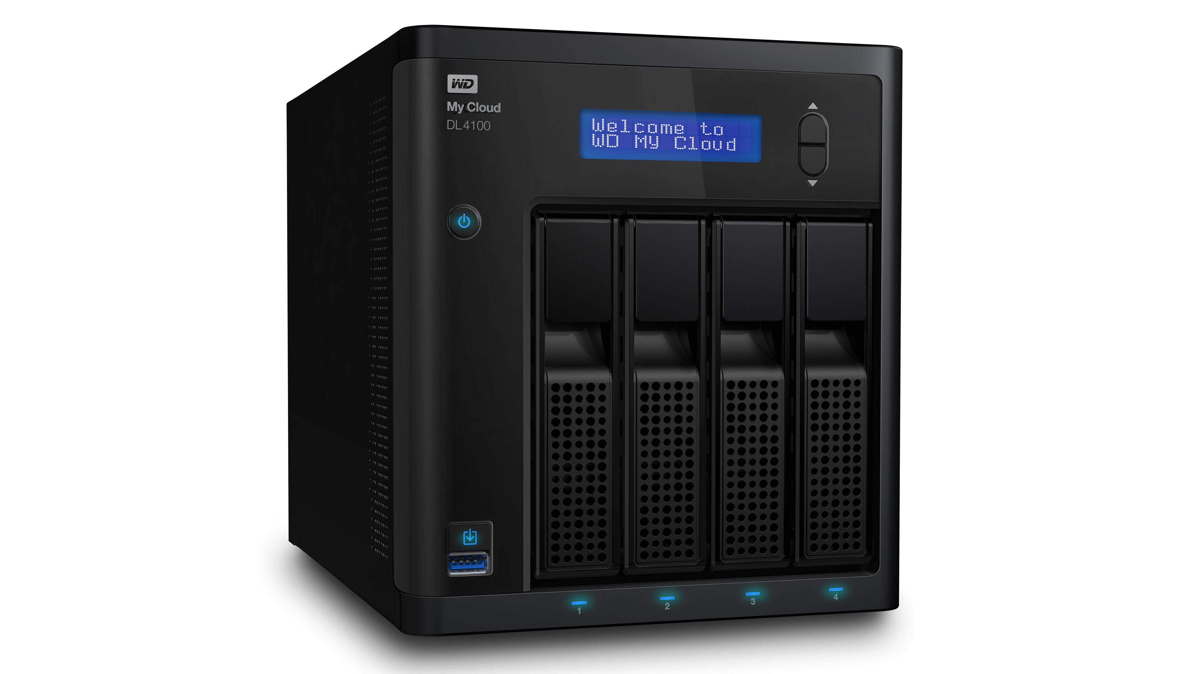 Western Digital DL4100 NAS drive