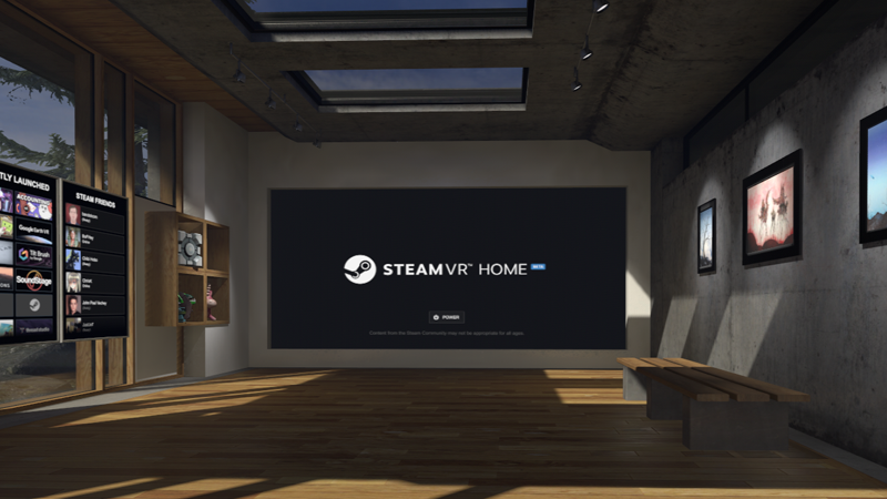 Vr Headset Comparison >> Steam's VR loading screen is getting a serious upgrade with SteamVR Home | TechRadar