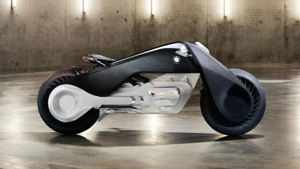 bmw's new tron-style motorcycle will never fall over | techradar