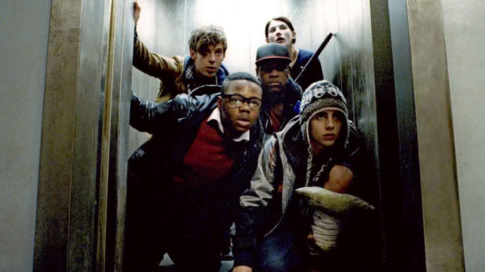A still from the movie Attack the Block that's now on Amazon Prime Video