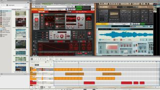 DAW gets new synths sampled instruments and drum content