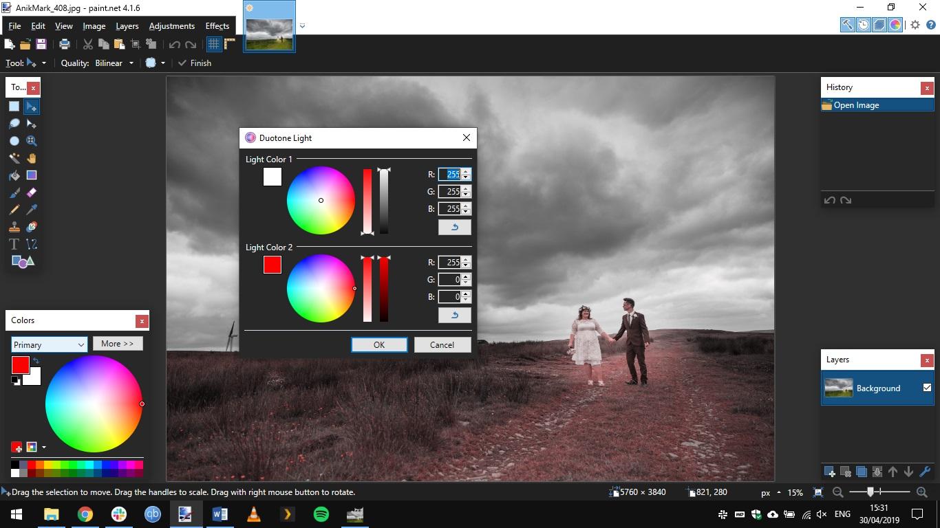Paint.NET interface