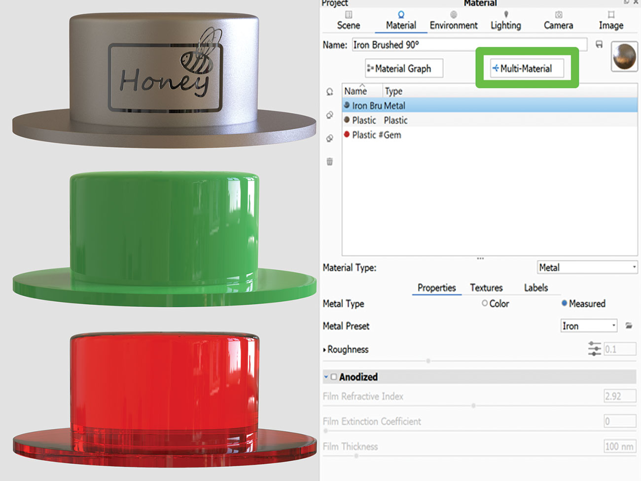 30 tips for rendering with KeyShot - Graphic Design   Digital Marketing