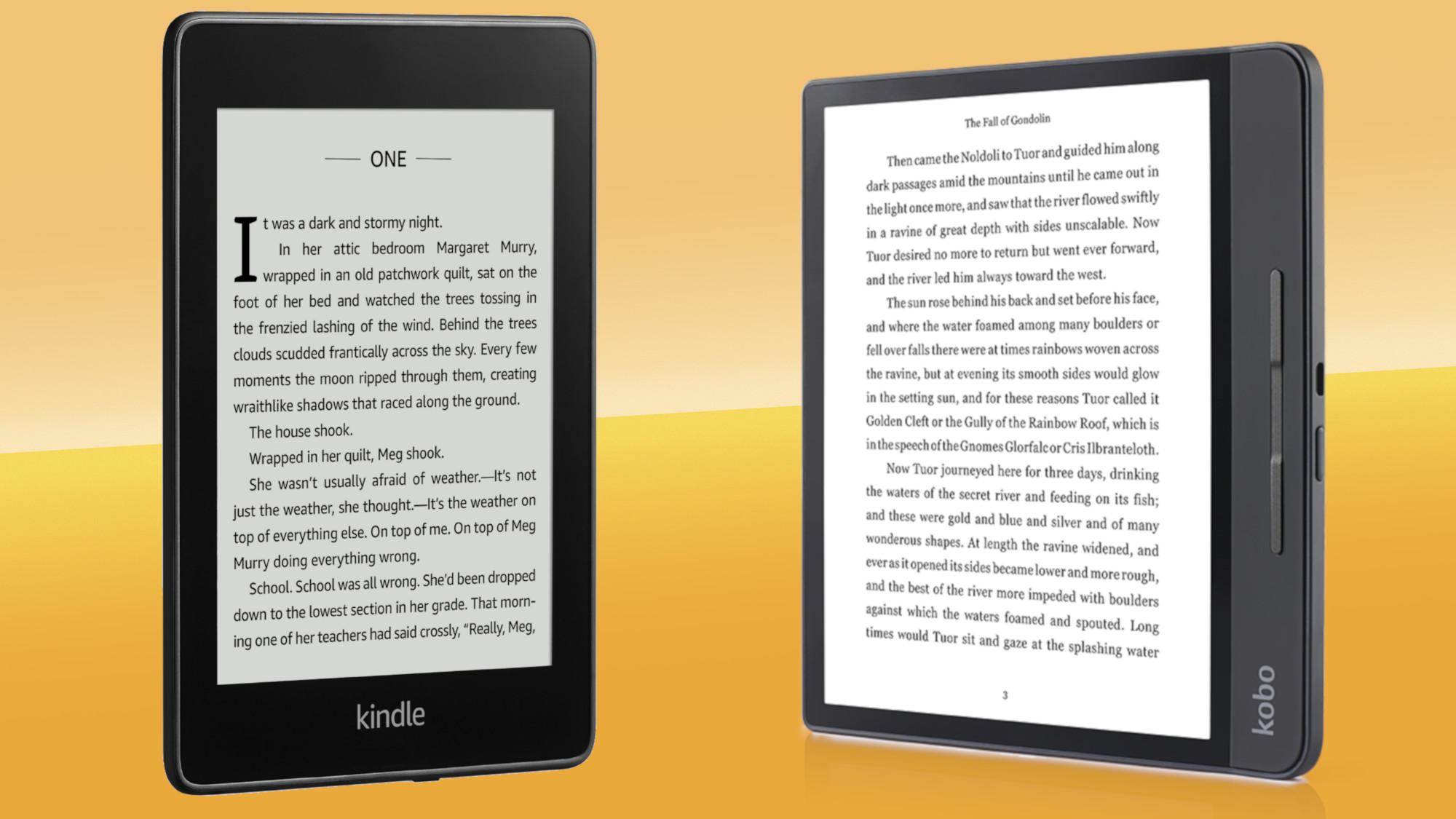 Best Ereader 2021 The Top Choices Of Kindle Vs Kobo Techradar