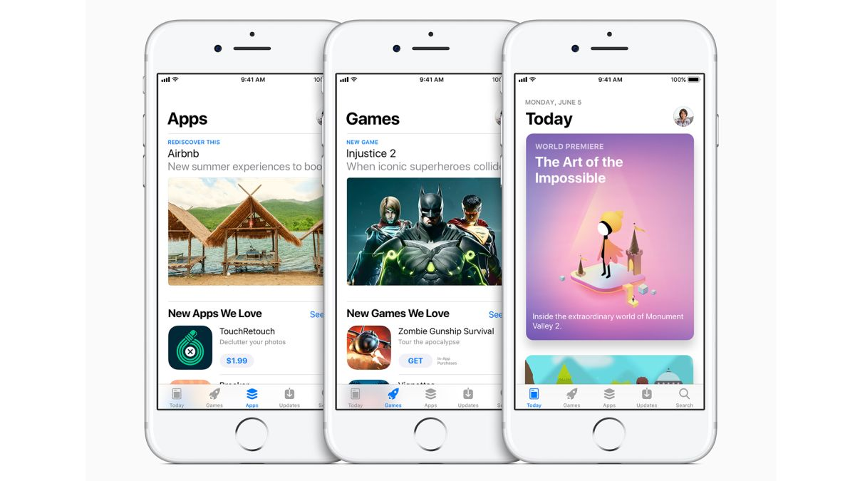 Expect to see iPhone and iPad apps up for pre-order in the Apple App Store