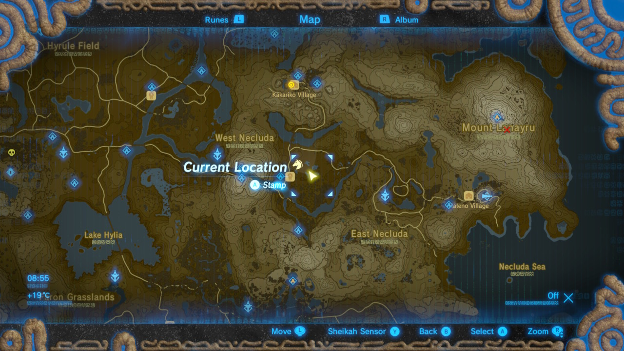 The Legend of Zelda: Breath of the Wild Captured Memories locations ...