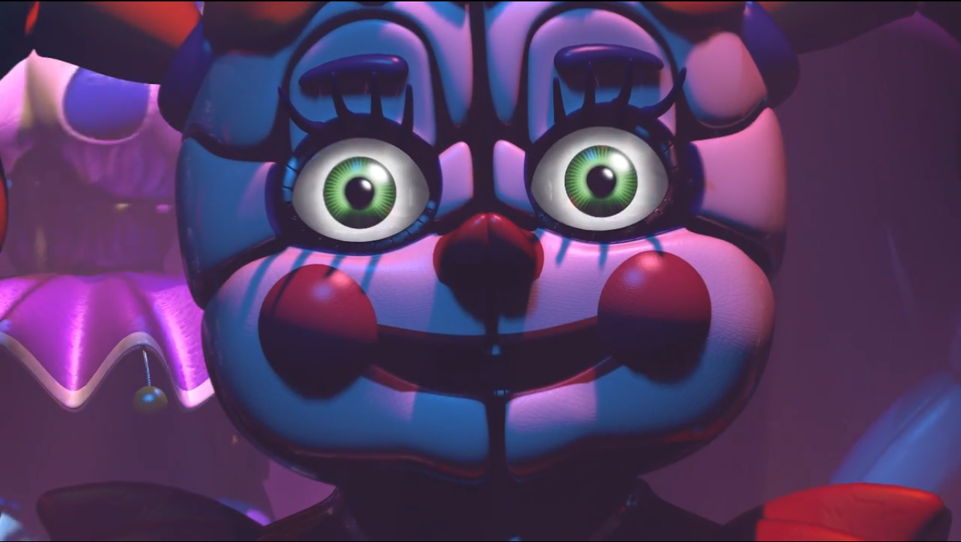 five nights at freddy 39 s sister location out this autumn pc gamer. Black Bedroom Furniture Sets. Home Design Ideas