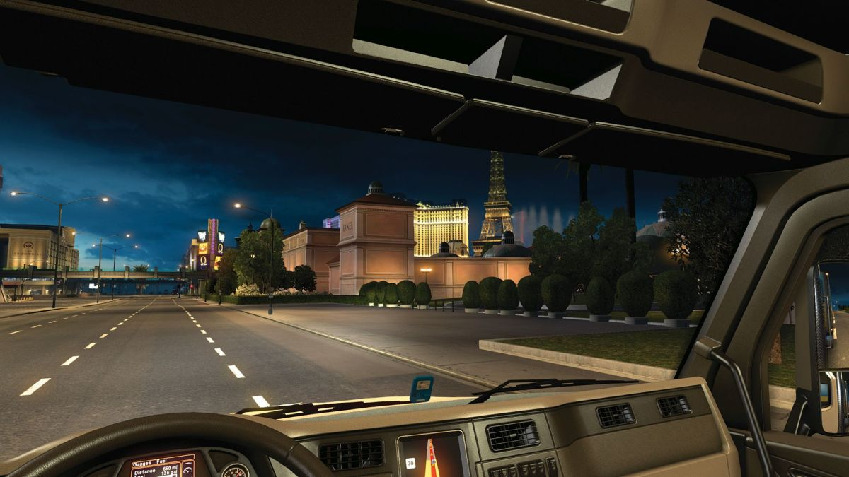 Why I love driving at night in American Truck Simulator