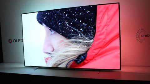 philips oled 803 4k hdr tv 65oled803 hands on review techradar. Black Bedroom Furniture Sets. Home Design Ideas