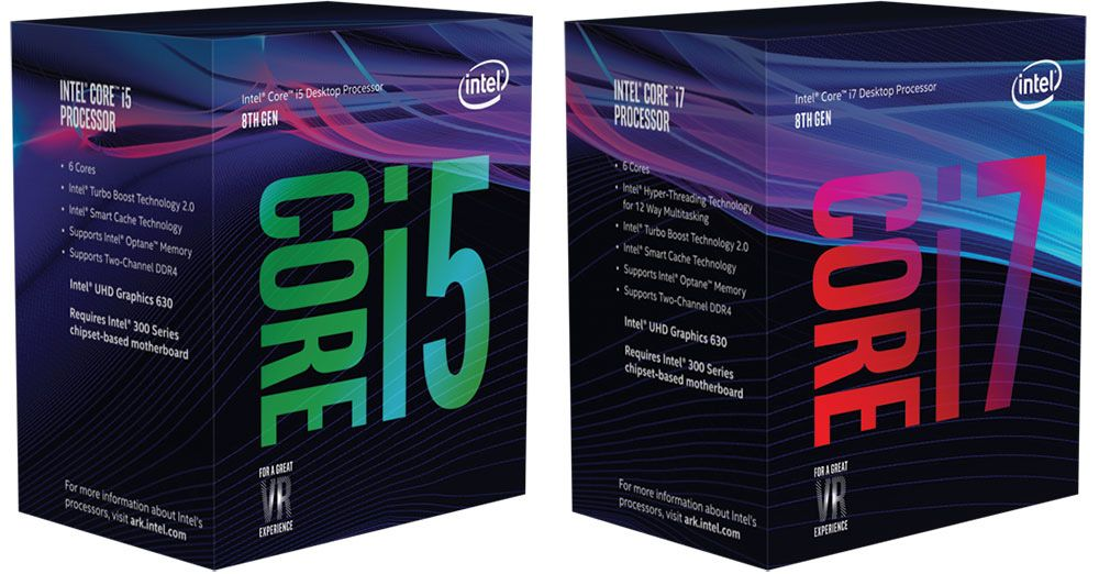 Intel Box Art Confirms Coffee Lake CPUs Will Require A New