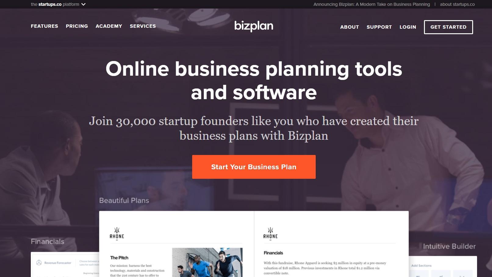 Best business plan software of 2018