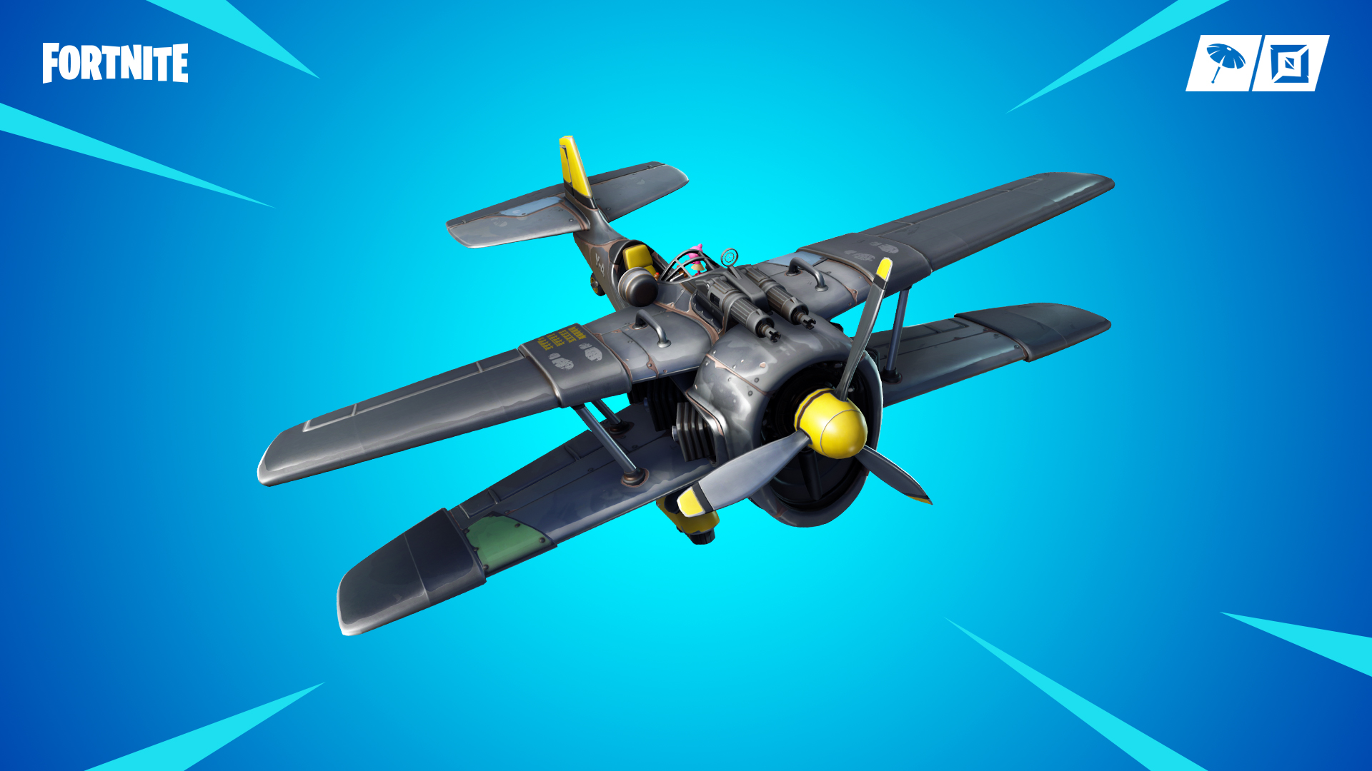 Fortnite X-4 Stormwing plane