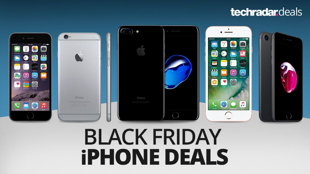 iphone 7 deals save 125 with these cheapest ever black friday voucher deals techradar. Black Bedroom Furniture Sets. Home Design Ideas