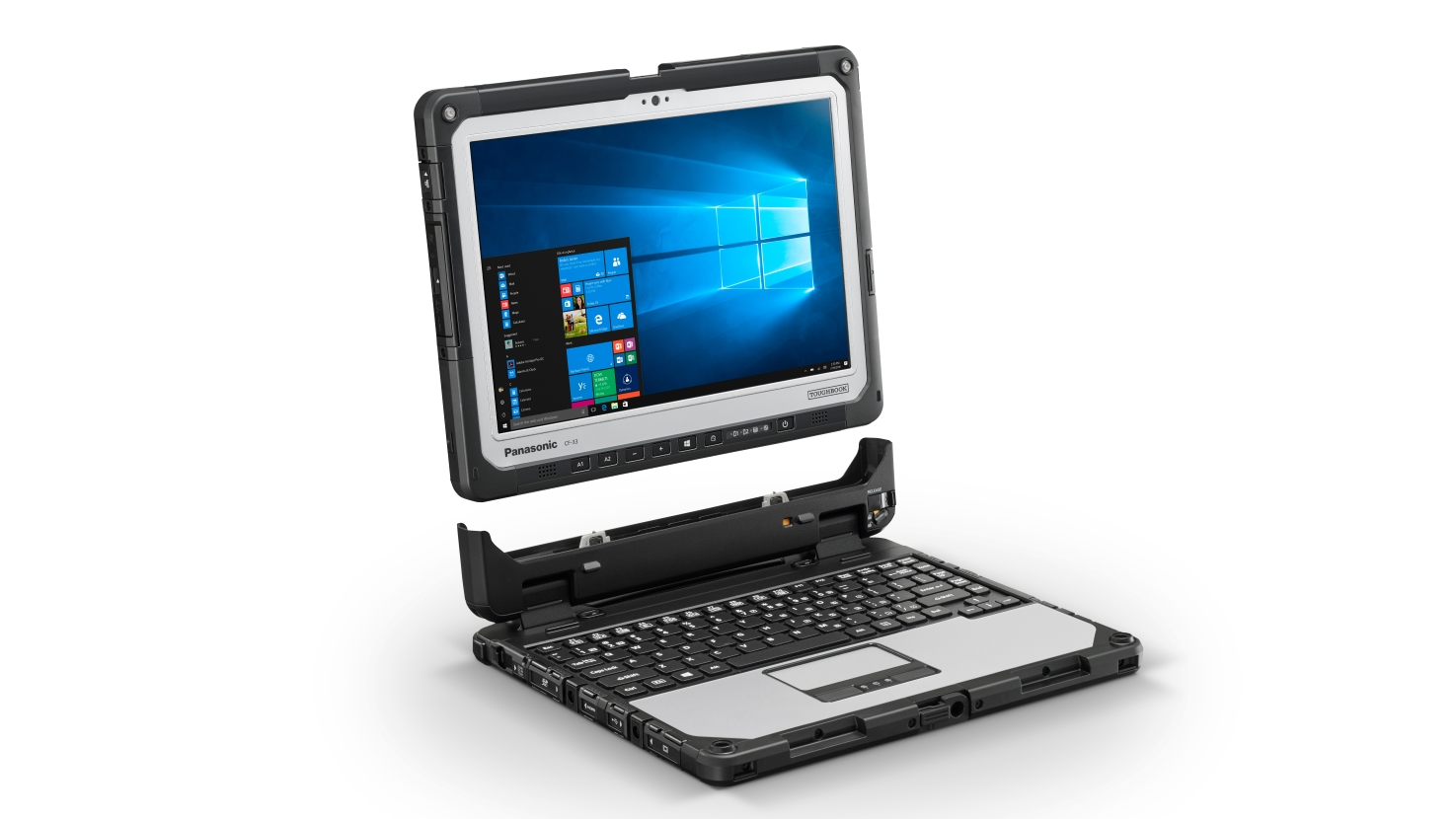 Best tablets with keyboards: Panasonic Toughbook CF-33